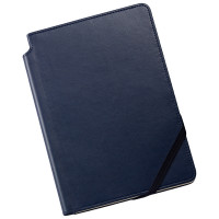 Cross Ruled Leather Journal - Midnight Blue - Medium