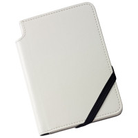 Cross Ruled Leather Journal - Classic White - Small