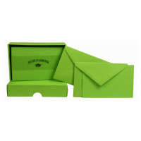 Crown Mill Set of 25 Cards and Envelopes - Bamboo