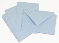 Crown Mill Classics C6 Set of 15 Cards and Envelopes - Blue