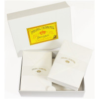 Crown Mill Luxury Box C6 Set of 100 Sheets and Envelopes - White