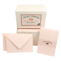 Crown Mill Luxury Box C6 Set of 50 Cards and Envelopes - Pink