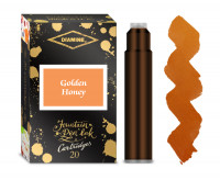 Diamine Ink Cartridge - Golden Honey (Pack of 20)