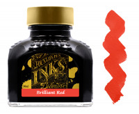 Diamine Ink Bottle 80ml - Brilliant Red