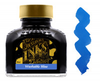 Diamine Ink Bottle 80ml - Washable Blue