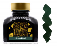 Diamine Ink Bottle 80ml - Green Black