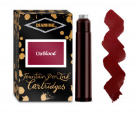 Diamine Ink Cartridge - Oxblood (Pack of 18)