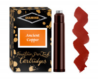 Diamine Ink Cartridge - Ancient Copper (Pack of 18)