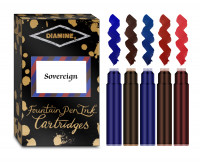 Diamine Ink Cartridge - Sovereign Colours (Pack of 20)