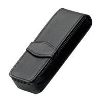 Diplomat Leather Pen Case - Quadruple