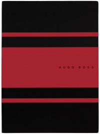 Hugo Boss Gear A5 Notepad - Matrix Red