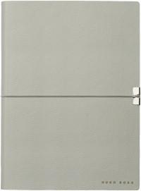 Hugo Boss Storyline A5 Notepad - Light Grey