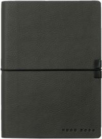 Hugo Boss Storyline A6 Notepad - Dark Grey