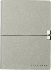 Hugo Boss Storyline A6 Notepad - Light Grey