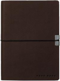 Hugo Boss Storyline A6 Notepad - Burgundy