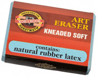 Koh-I-Noor 6421 Kneaded Eraser - Single (In Card)