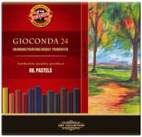 Koh-I-Noor 8354 Artist's Oil Pastels - Assorted Colours (Pack of 24)