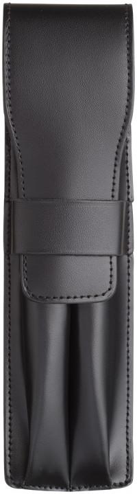 Lamy Leather Pen Pouch - Double - Black