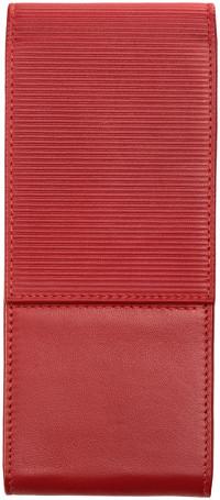 Lamy Premium Leather Pen Case for Three Pens - Red