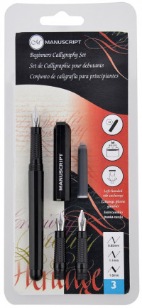 Manuscript Beginner's Calligraphy Set - Left Handed