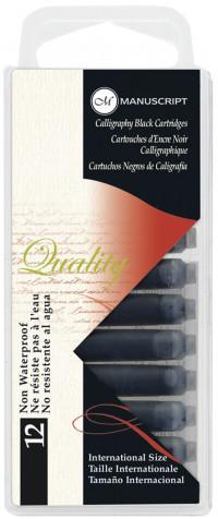 Manuscript Ink Cartridges - Pack of 12