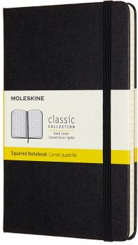 Moleskine Classic Hardback Medium Notebook - Squared - Assorted