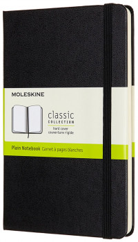 Moleskine Classic Hardback Medium Notebook - Plain - Assorted