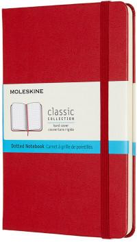 Moleskine Classic Hardback Medium Notebook - Dotted - Assorted