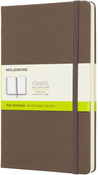 Moleskine Classic Hardback Large Notebook - Plain - Assorted