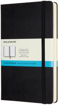 Moleskine Classic Hardback Large Expanded Notebook - Dotted - Black