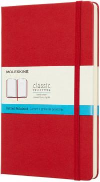 Moleskine Classic Hardback Large Notebook - Dotted - Assorted
