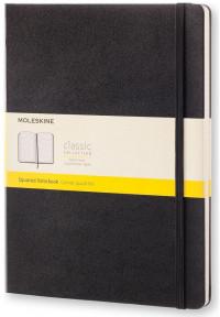 Moleskine Classic Hardback Extra Large Notebook - Squared - Assorted