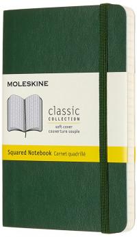Moleskine Classic Soft Cover Pocket Notebook - Squared