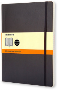 Moleskine Classic Soft Cover Extra Large Notebook - Ruled - Assorted