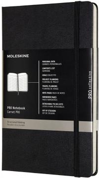 Moleskine Pro Hardback Large Notebook - Assorted