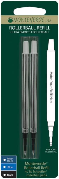 Monteverde Rollerball Refill To Fit Sheaffer (Blister of 2)