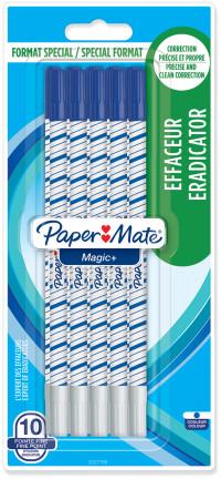 Papermate Magic + Erasable Fineliner Pen - Medium - Blue (Blister of 10)
