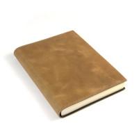 Papuro Capri Leather Journal - Tan - Medium