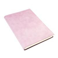 Papuro Capri Leather Journal - Pink - Large