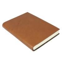 Papuro Firenze Leather Journal - Tan - Medium
