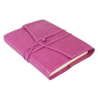 Papuro Milano Medium Refillable Journal - Raspberry Address Book