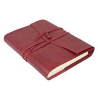 Papuro Milano Medium Refillable Journal - Red Address Book