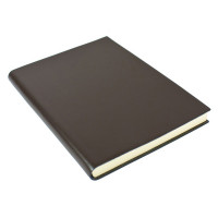 Papuro Torcello Leather Journal - Brown - Oversize