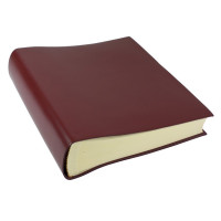 Papuro Torcello Leather Photo Album - Burgundy - Large