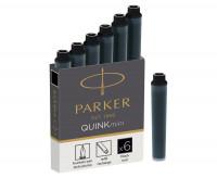 Parker Quink Mini Ink Cartridges - Box of 6