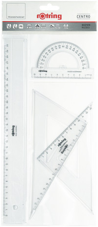 Rotring Centro Geometry Sets - 4 Pieces