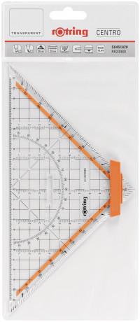 Rotring Centro Set Square Professional - 22cm