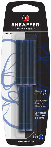 Sheaffer Ink Cartridge - Pack of 5