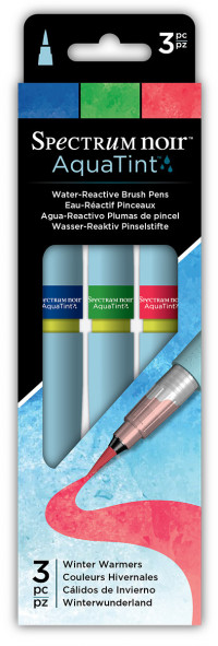 Spectrum Noir AquaTint Watercolour Markers - Winter Warmers (Pack of 3)