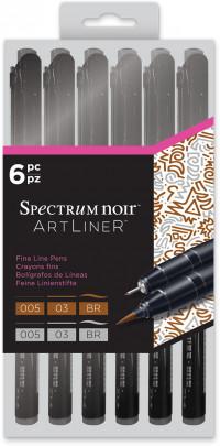 Spectrum Noir Artliner - Neutral (Pack of 6)
